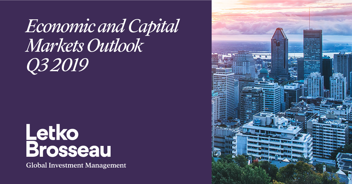 LBA Economic and Capital Markets Outlook – Q3 2019