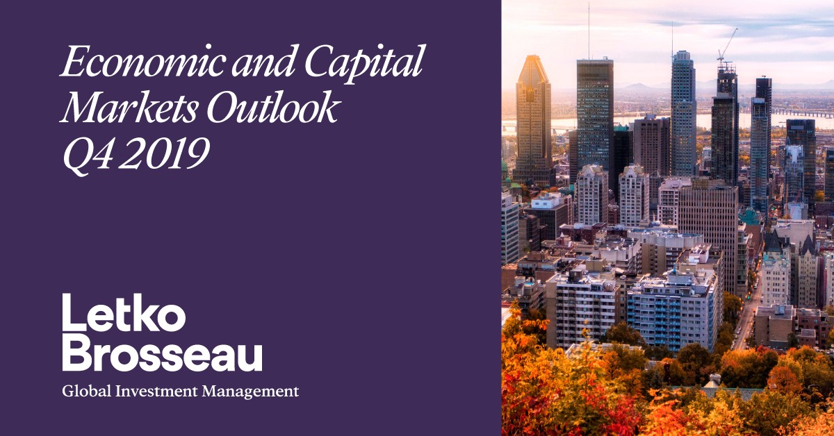 Economic and Capital Markets Outlook Q4