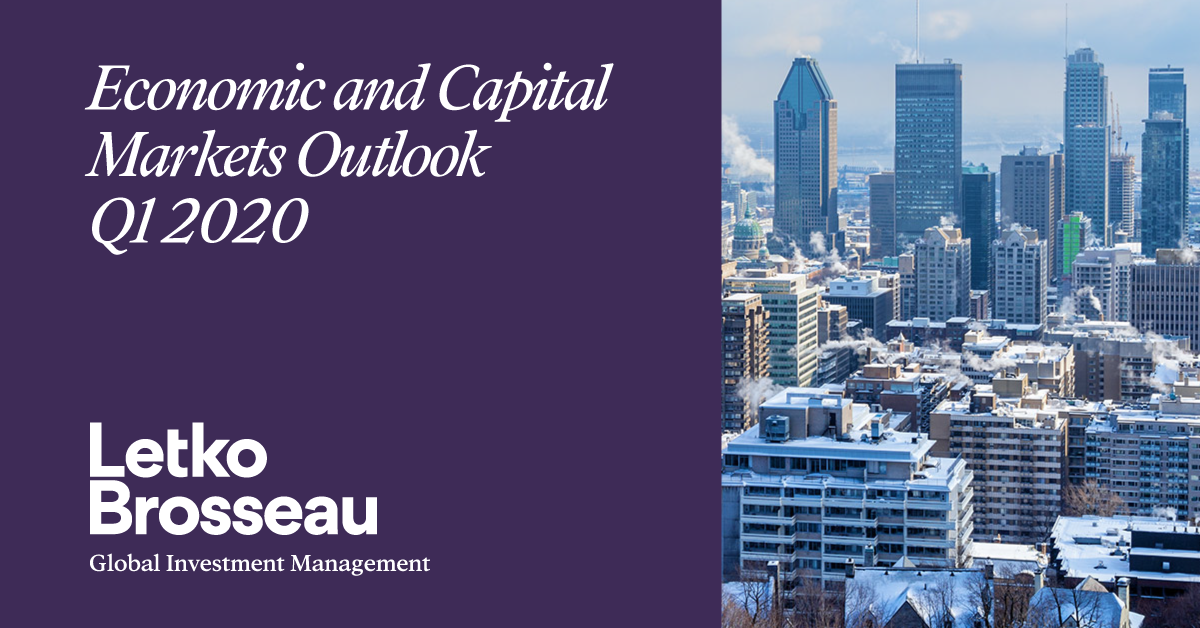 Economic and Capital Markets Outlook – Q1 2020