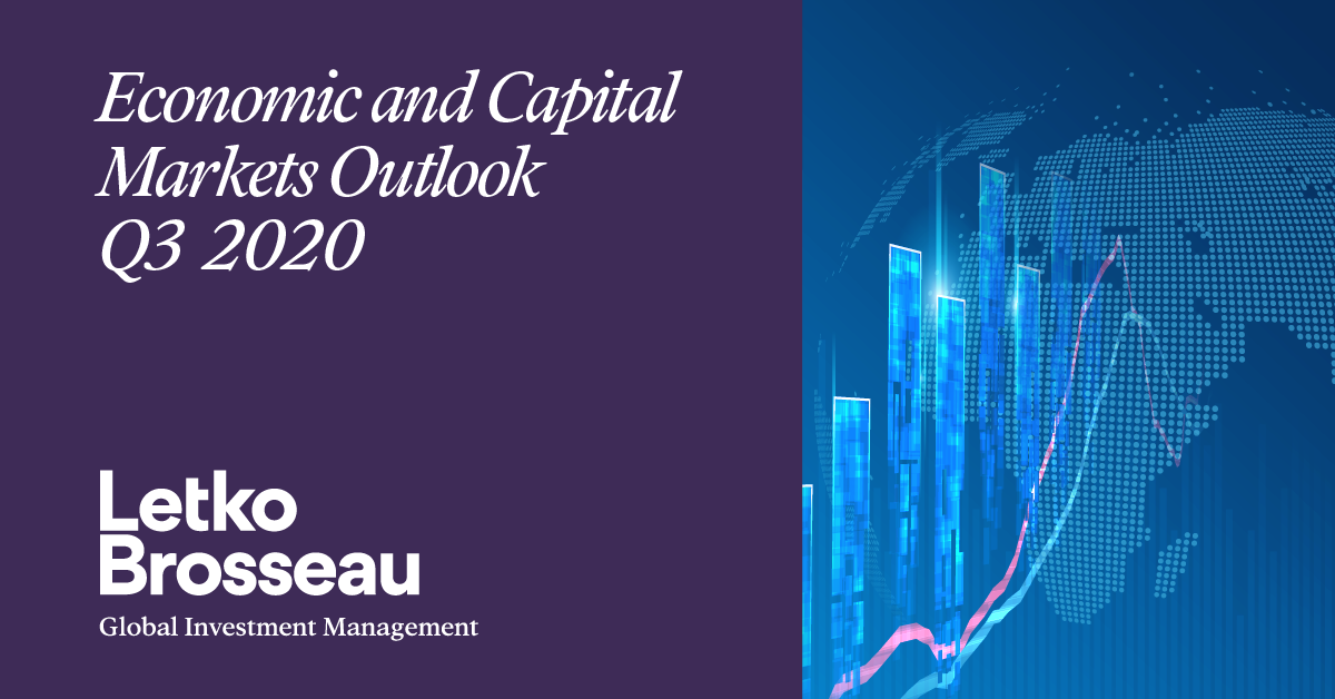 Economic and Capital Markets Outlook – Q3 2020