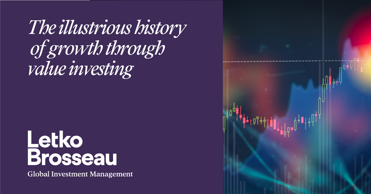 The illustrious history of growth through value investing