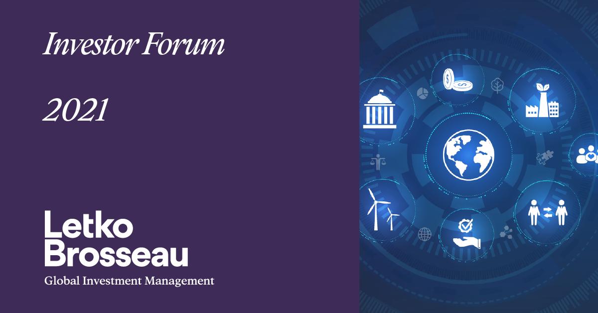 Investor Forum 2021